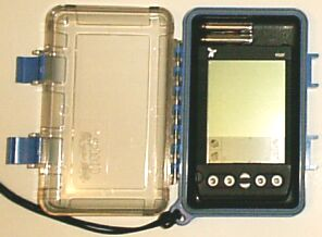 Opened Otter Box 2000 - Batteries not included :-)