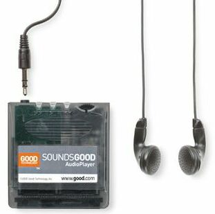 SoundsGood module & earphones